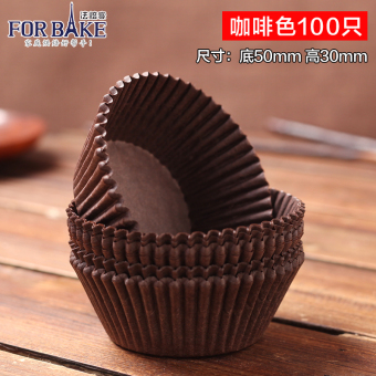 Harga Law off baking cups greaseproof paper muffin cake tray chocolate muffin cup baking tools oven with 100 only