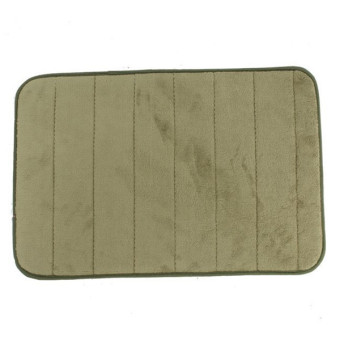 Harga Hang-Qiao Non-slip Bathroom Mat (Green)