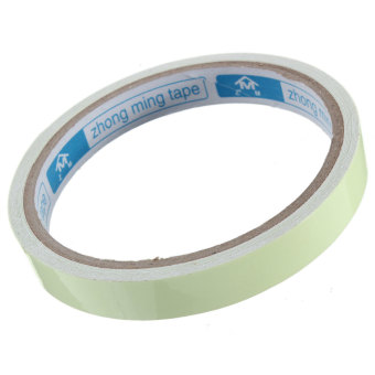 Harga Luminous Tape Adhesive Strip Glow In The Dark Stage Green Home Decor 12mm Width(Export)(Intl)
