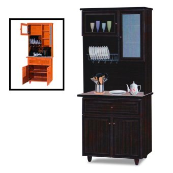 Harga Nova 3014-WN Dining Cabinet (FREE DELIVERY) (FREE ASSEMBLY)