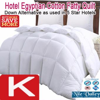 Nile Valley's 5 Star Hotel Luxurious Egyptian Cotton Fatty Quilt For Good Night Sleep