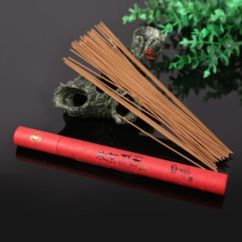 1x Oriental Buddha Buddhist Aroma Nature Incense Sticks With Case Sandalwood for Home #4 - intl