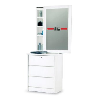 Harga Nova 3119 Dressing Table (FREE DELIVERY) (FREE ASSEMBLY)
