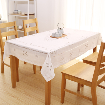 Harga Wishing tree plain tablecloth literary fresh garden Linen tablecloth coffee table mat coffee table cloth tablecloth cover towel