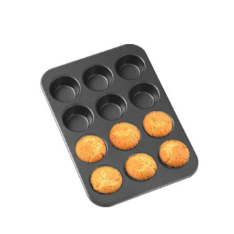 Harga Home baked cake baking mold 12 even nonstick cake mould mini cake mold muffin cake
