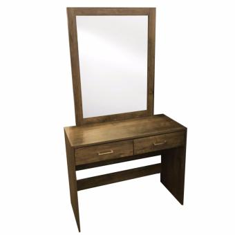 Harga Box Furniture Scott Dress Table with Mirror (Free Delivery)
