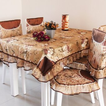 Harga Yi Duo fabric tablecloth dining table cloth table European coffee table