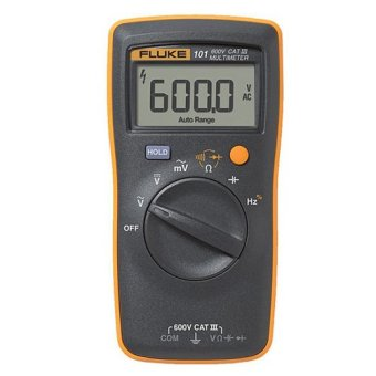 Harga Fluke 101 Basic Digital Multimeter Pocket Portable Meter Equipment Industrial