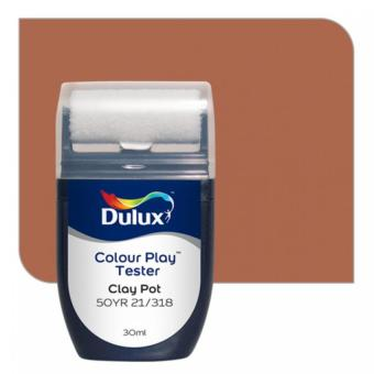 Harga Dulux Colour Play Tester Clay Pot 50YR 21/318