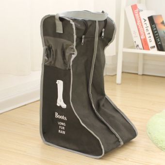 Shoe covers shoe covers dust barreled boots cover transparent visual non-woven cloth storage shoe boots pouch