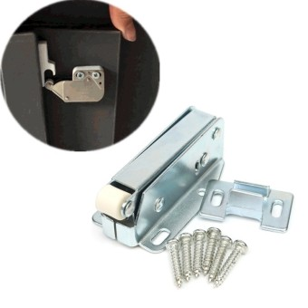 Loft Door Touch Catch Hatch Push Attic Cupboard Latch Lock Caravan With Screws - intl