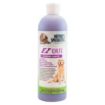 Natures Specialties Ez Out Dog and Cat Shampoo 16oz