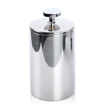 Harga Empire cylinder hit milk is double stainless steel hand to play foam cup coffee hand to fight milk machine 400 ml