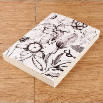 Van Gogh thick high-grade sketch of the/paper painting of the graffiti this blank art painted book