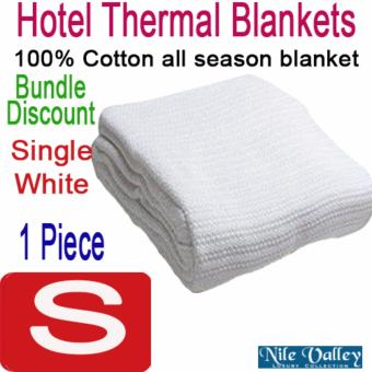 Harga Nile Valley Hotel 100% Cotton Thermal Blankets