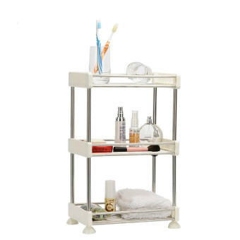 Harga EGC Stainless steel Kitchen Storage rack three layers