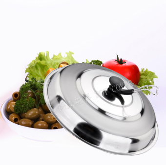 Harga 32/36/38/40/42 cm hot shatterproof can be hung vertical stainless steel wok steamer lid