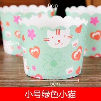 Harga Trumpet high temperature rigid cups cupcake cups muffin cup 50 small cup cake cups mechanism only