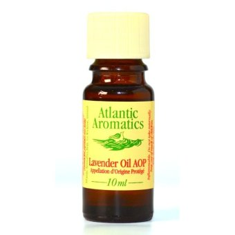 "Atlantic Aromatics Lavender ""Fine"" AOP Organic Essential Oil ""Fine"" – Lavandula Augustifolia Flower Oil - 10mL"