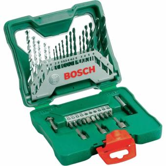 Harga Bosch X-Line 33 Piece Drill & Screw Bit Set(Green)