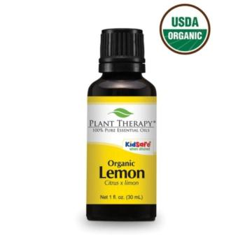 Harga Plant Therapy Organic Lemon Essential Oil 30ml