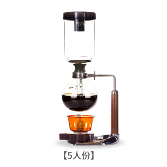 Harga Brown Yi coffee pot household glass siphon pot siphon-manual cook coffee machine coffee with suit