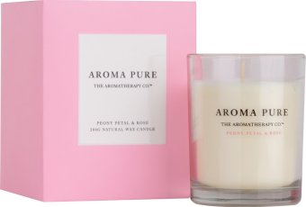 Harga The Aromatherapy Co. Aroma Pure Peony Petal & Rose Candle 200g