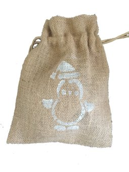 Harga Jute drawstring pouch - pack of 10
