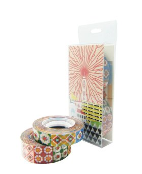 Harga Now and Then Peranakan Tiles Tape NTSTSET (Mix)