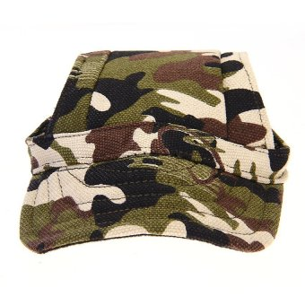 Harga Dog Cat Puppy Pet Baseball Sports Cap Hat Camouflage Cute (EXPORT)