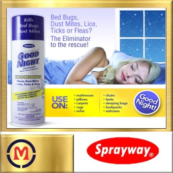 Harga [SPRAYWAY] Goodnight Spray Kill Bed Bugs & Mites