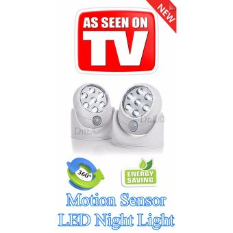 Harga Wireless Motion Sensor LED Light Angel Light (White LED)