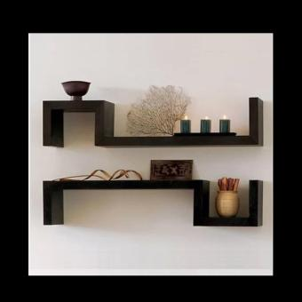 Harga S-shaped Decorative Rectangle Shelves