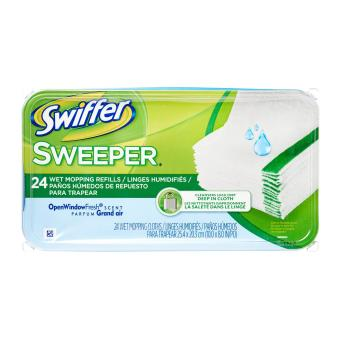 Harga Swiffer Sweeper Wet Mopping Refill Cloths Open Window Fresh Scent