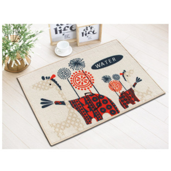 Harga Cartoon elephant door mats doormat hall bedroom living room kitchen bathroom door absorbent mats antiskid
