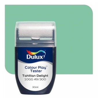 Harga Dulux Colour Play Tester Tahitian Delight 10GG 49/300
