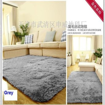 Harga 60cm*160cm 4.5cm Thick Floor Mat Modern Area Rugs And Carpet For Home Living Room Bedroom Shaggy Carpet Rug For Home - Intl