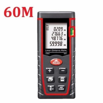 Harga 60M Laser Distance Meter Range Finder Build Test Tool - intl