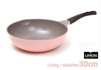 Harga Cheftopf Korean 5 Layers Ceramic Coating Stir-Frying Wok 30 cm - intl