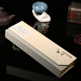 180pcs/pack Oriental Buddha Buddhist Aroma Nature Incense Sticks + Case Sandalwood #2 - intl