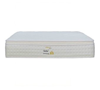 Harga Amber Initial Pocketed Spring With Euro-Top Mattress