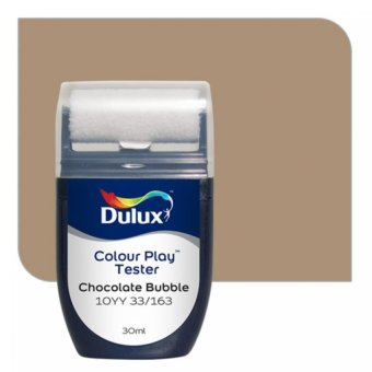 Harga Dulux Colour Play Tester Chocolate Bubble 10YY 33/163