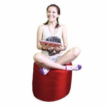 Harga Tootsie Wine Red by doob bean bags