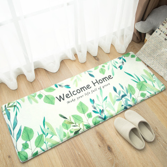 Harga Mats doormat door mats bedroom kitchen long mat bathroom door bathroom absorbent non-slip mat
