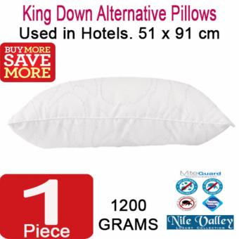 Harga Nile Valley's Hotel Down Alternative Microfibre Pillow King for a good night sleep