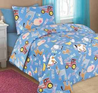 Harga MaxCoil, Kid's World series bedsheet set