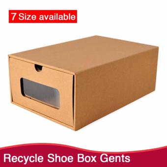 Harga Recycle Gents Shoe Box | Shoe Rack | Shoe Box | Drawer | Shelf | Storage Space | Accessories Box