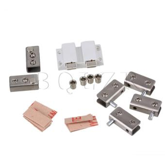 Glass Door Pivot Hinge Set Set of 6 Silvey