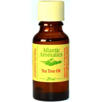 Atlantic Aromatics Tea Tree Organic Essential Oil - Melaleuca Alternifolia Leaf Oil - 20mL