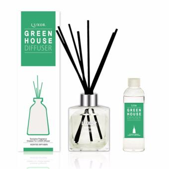 Luxor Aroma Reed Diffuser Green House 200ml Bottle + 200ml Refill + 5 Reed Sticks Price in Singapore